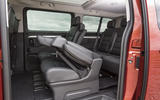 Vauxhall Vivaro Life 2019 road test review - middle row