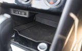 Volkswagen T-Roc Cabriolet 2020 road test review - oddment storage