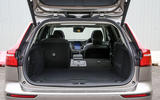 Volvo V60 2018 road test review split rear seats