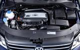 2.0-litre TDI Volkswagen Passat engine