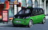 VW reveals an electric taxi