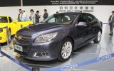 Shanghai motor show: Chevrolet Malibu