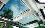 Renault Scenic panoramic sunroof