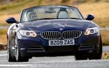 BMW Z4 sDrive23i cornering