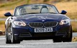 BMW Z4 sDrive23i cornering