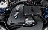 BMW Z4 engine bay