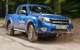 Ford Ranger Wildtrak off-roading
