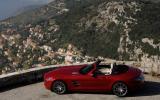 Mercedes-Benz SLS AMG Roadster roof down