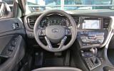 Kia Optima Hybrid dashboard