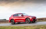 Alfa Romeo Stelvio Quadrifoglio 2019 road test review - hero side