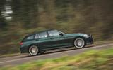 2 alpina d3 touring 2021 uk first drive review hero side