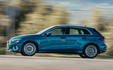 Audi A3 Sportback 2020 road test review - hero side