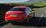 Audi A6 2019 road test review - hero rear