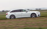 Audi A6 Avant 2018 road test review - hero side