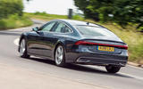 Audi A7 Sportback 2018 road test review hero rear