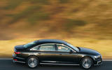 Audi A8 60 TFSIe 2020 road test review - hero side
