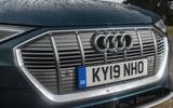 Audi E-tron 55 Quattro 2019 road test review - front bumper