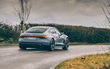 2 audi e tron gt 2021 lhd uk first drive review hero rear