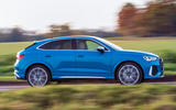 Audi RS Q3 Sportback 2020 road test review - hero side