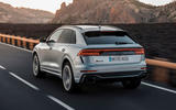 Audi RS Q8 2020 road test review - hero rear
