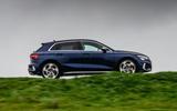 Audi S3 Sportback 2020 road test review - hero side