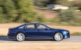 Audi S8 2020 road test review - hero side