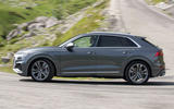 Audi SQ8 2019 road test review - hero side
