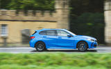BMW 1 Series 118i 2019 road test review - hero side