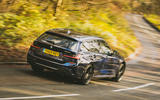 BMW 3 Series Touring 2020 road test review - hero rear