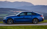 2 BMW i4 M50 2021 first drive review side pan