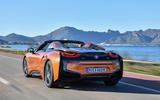 BMW i8 Roadster 2018 review hero rear