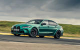 2 bmw m3 competition 2021 uk first drive review ok hero side