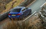 BMW M5 2018 review hero rear