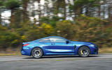BMW M8 Competition coupe 2020 road test review - hero side