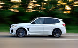 BMW X3 M Competition 2019 review - hero side