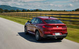 BMW X4 2018 road test review hero rear
