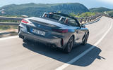 BMW Z4 2018 review - hero rear