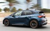 2 Cupra Born 2021 first drive review hero rear