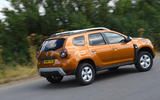 Dacia Duster 2018 road test review hero rear