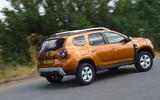 Dacia Duster 2018 road test review hero rear