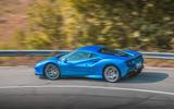Ferrari F8 Tributo 2019 road test review - hero rear