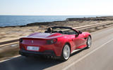 Ferrari Portofino review rear hero
