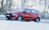 2 Hyundai i20 2021 road test review hero side