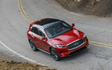 Infiniti QX50 2018 review - front action
