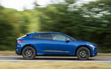 Jaguar I-Pace 2018 road test review hero side