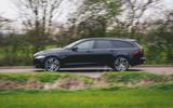 Jaguar XF Sportbrake 2019 road test review - hero side