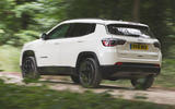 Jeep Compass 2018 road test review - hero rear