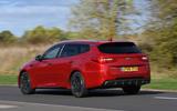 Kia Optima Sportswagon 2018 review - hero rear