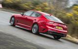 Kia Stinger GT line 2018 review hero rear