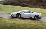 Lamborghini Huracan EVO RWD 2020 road test review - hero side